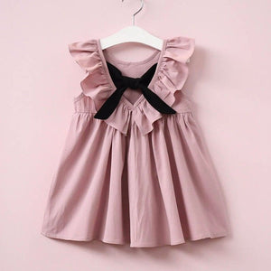 Toddler Girl Ruffle Princess Party Wedding Dress