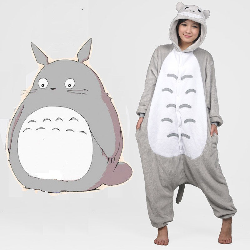 Cartoon Themed Kigurumi Unisex Adult Sleepwear