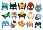 Superhero Mask Sticker
