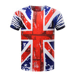 Union Jack High Definition Print Unisex Tshirt