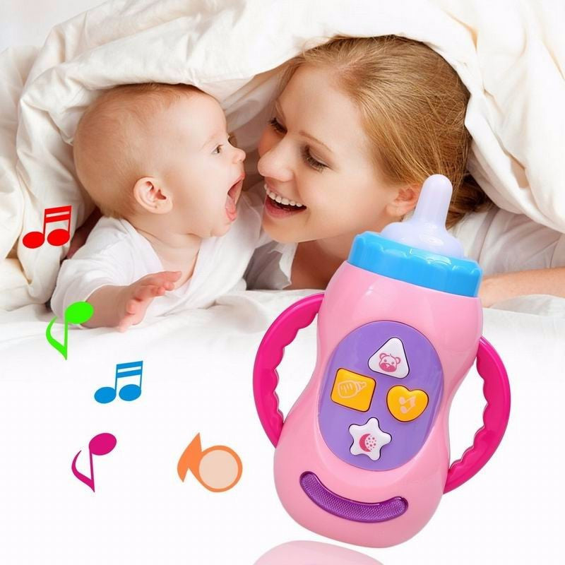Musical Educational LED Baby Milk Bottle Toy