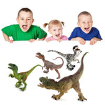 Educational Hand Painted Dinosaur Action Figures