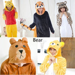 Bear Themed Unisex Adult Kigurumi Sleepwear