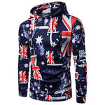 Union Jack High Definition Print Unisex Hooded Sweatshirts