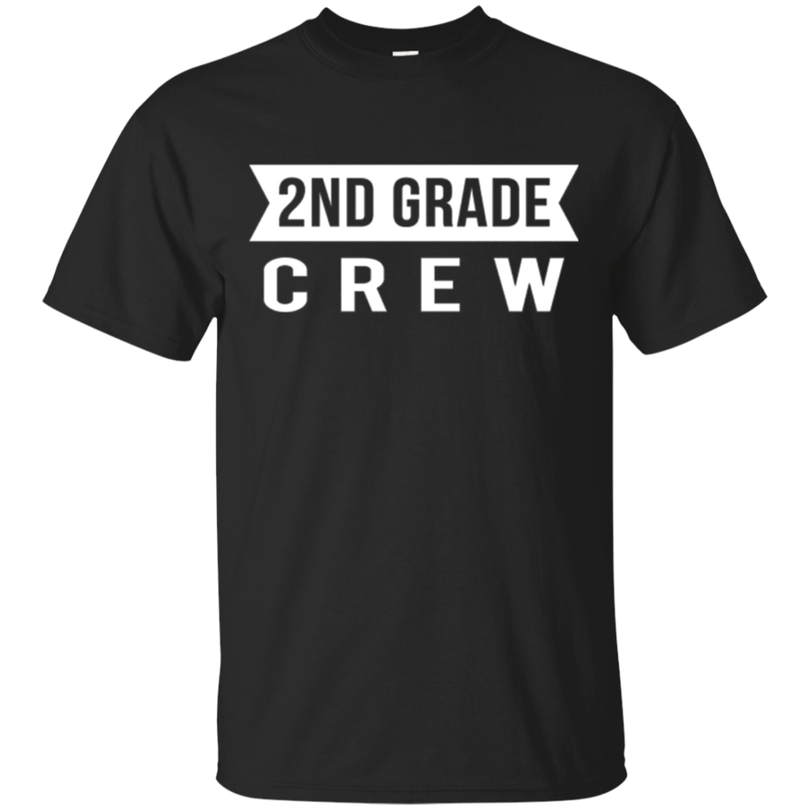 2nd Grade Crew school kids teachers 2017 funny gift t-shirt