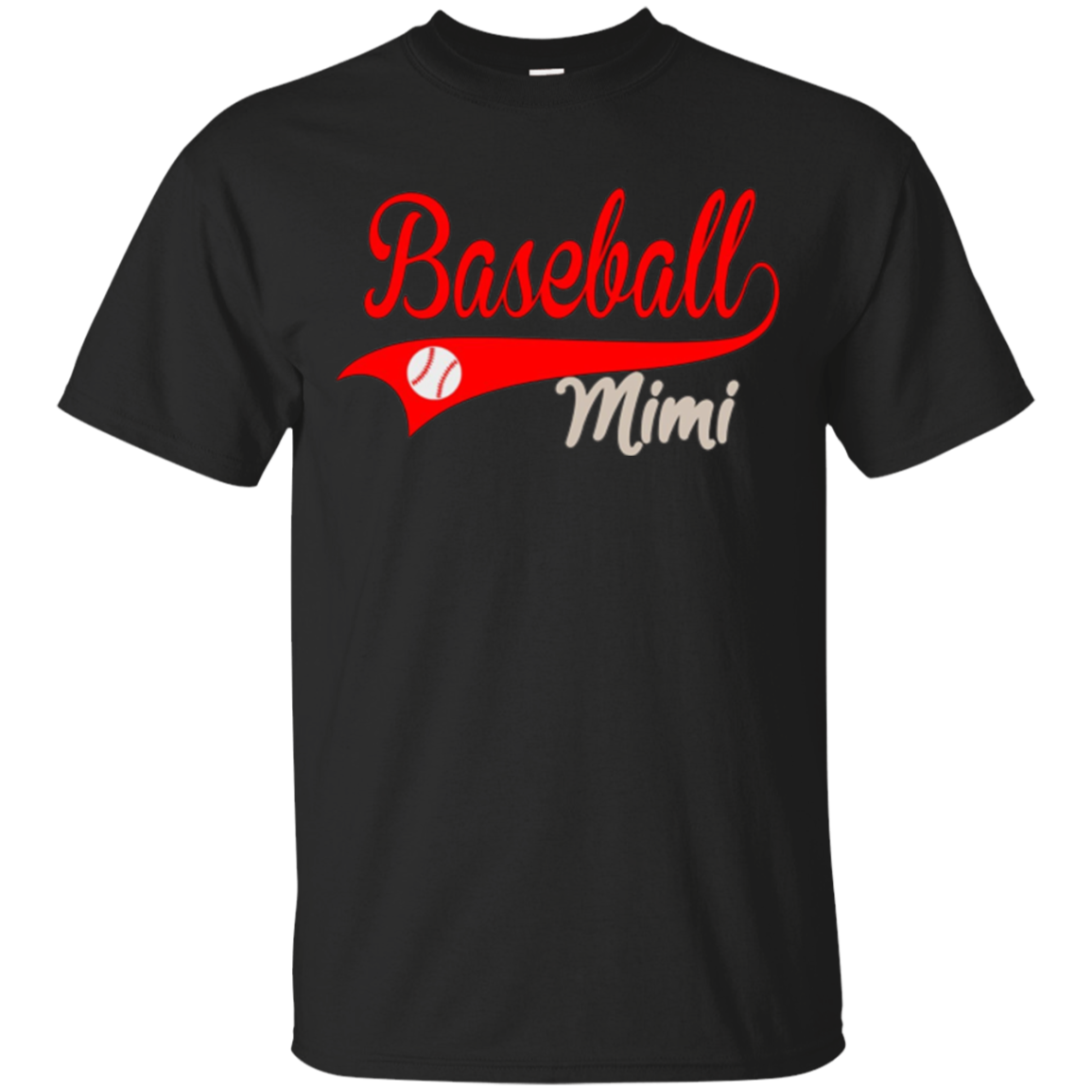 Baseball Mimi T-Shirt - Baseball Lover T-Shirt