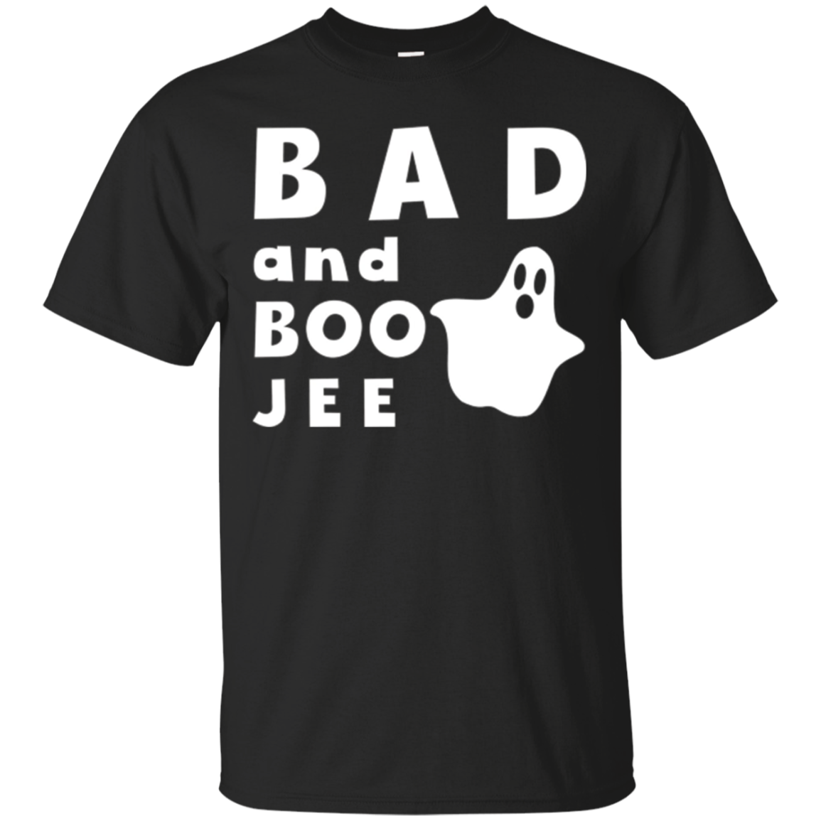 Bad and Boo Jee Graphic Ghost T-shirt
