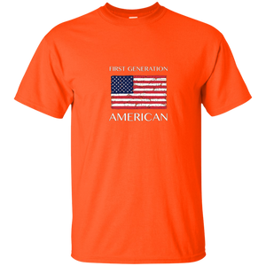 First Generation American T-Shirt by Immigrant Nation Tees