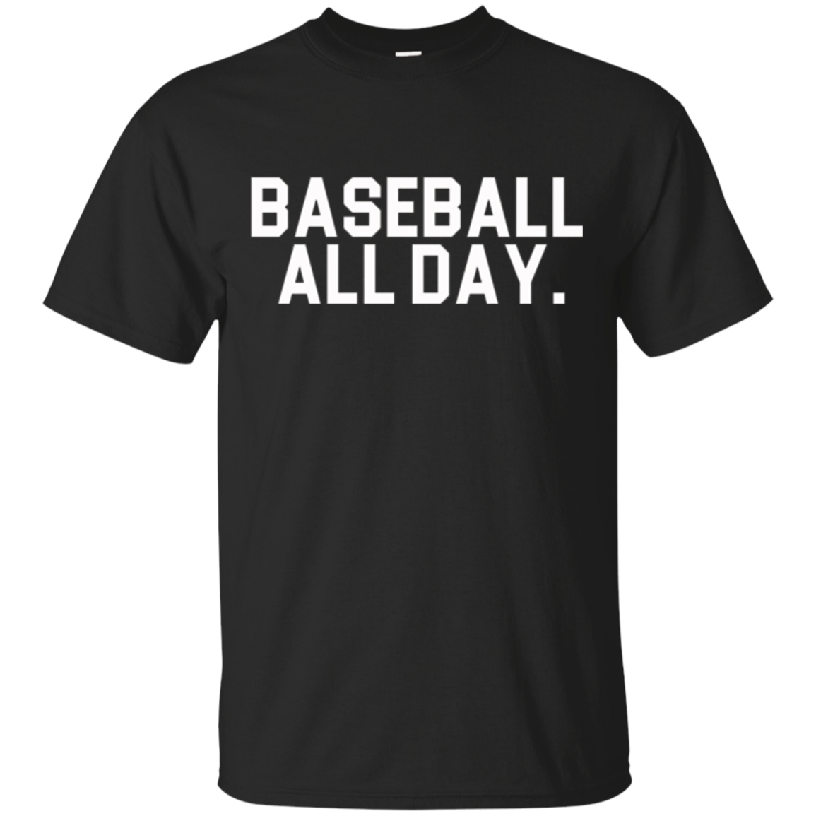 Baseball All Day Sports T shirt for Ball games