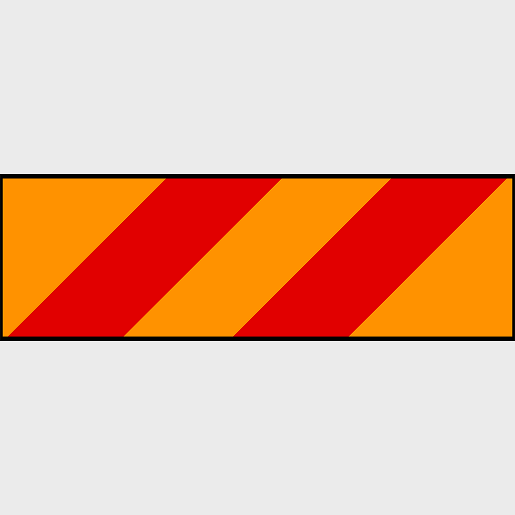 41A Heavy Vehicle Marking Sign - Aluminium