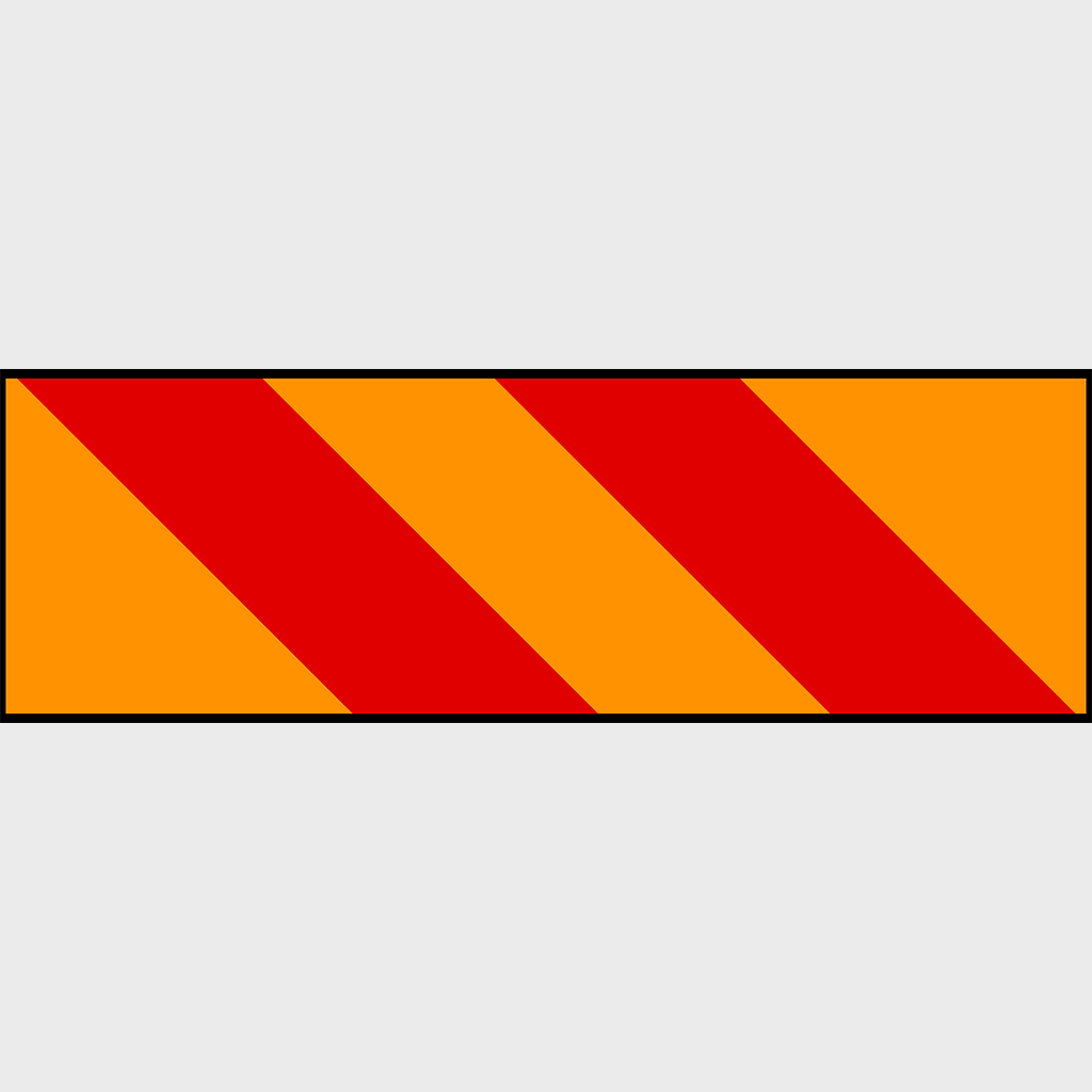 41B Heavy Vehicle Marking Sign - Aluminium