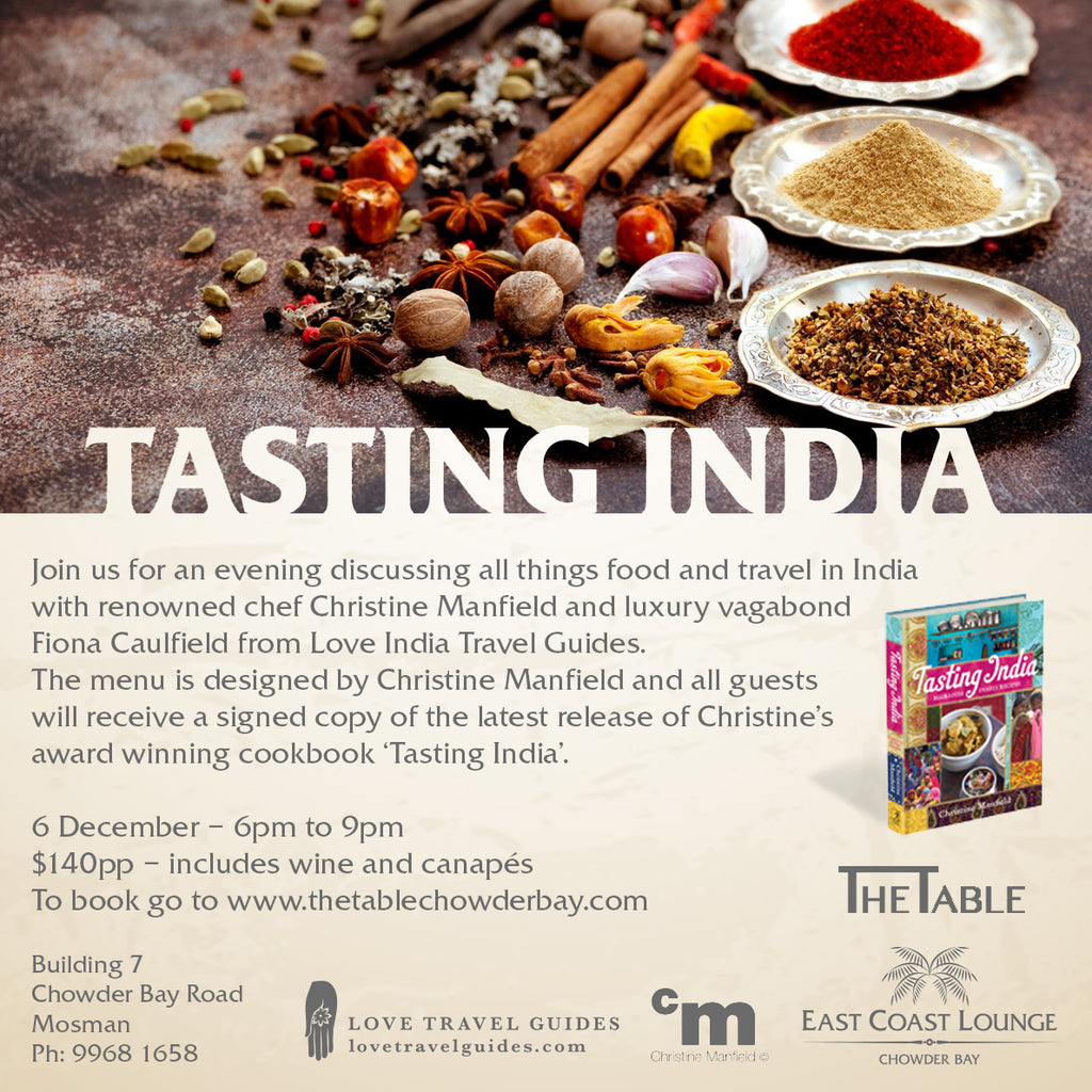 Tasting India with Fiona Caulfield and Christine Manfield