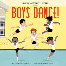 ballet book for kids boy dance!