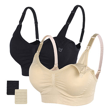 STELLE  Body Silk Seamless Maternity Nursing Bra