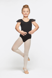 Girl's Ruffle Sleeve Dance Leotard