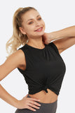 Women's Sleeveless Workout Crop Tops
