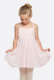 Girl's Classic Cross-back Camisole Dance Leotard Dress