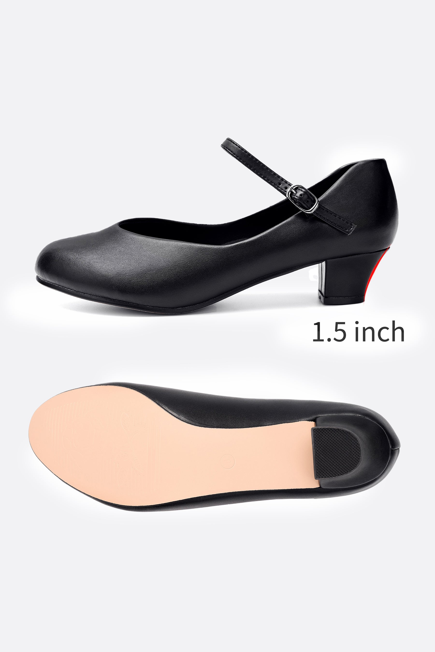 Women's 1.5'' Character Dance Shoes
