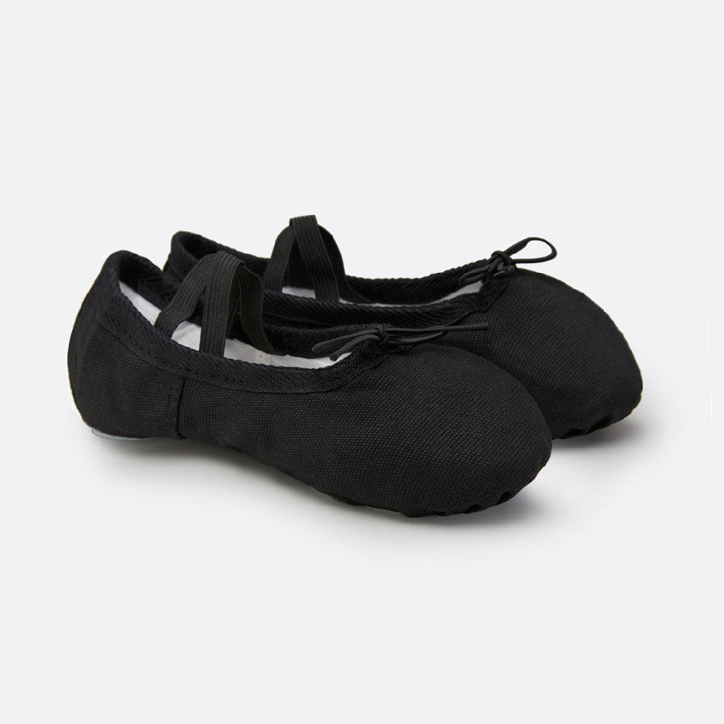 StelleCanvasBalletShoesBalletBlack1