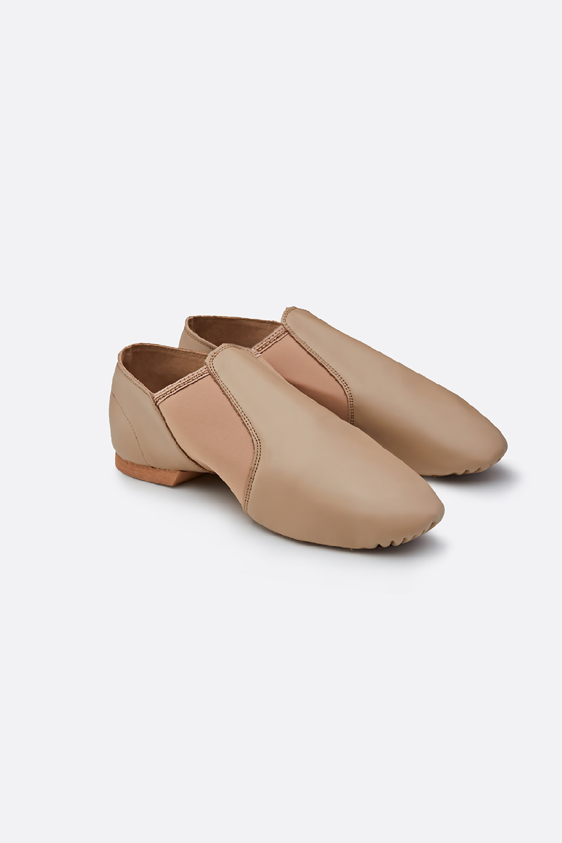 Kid's Leather Jazz Shoes