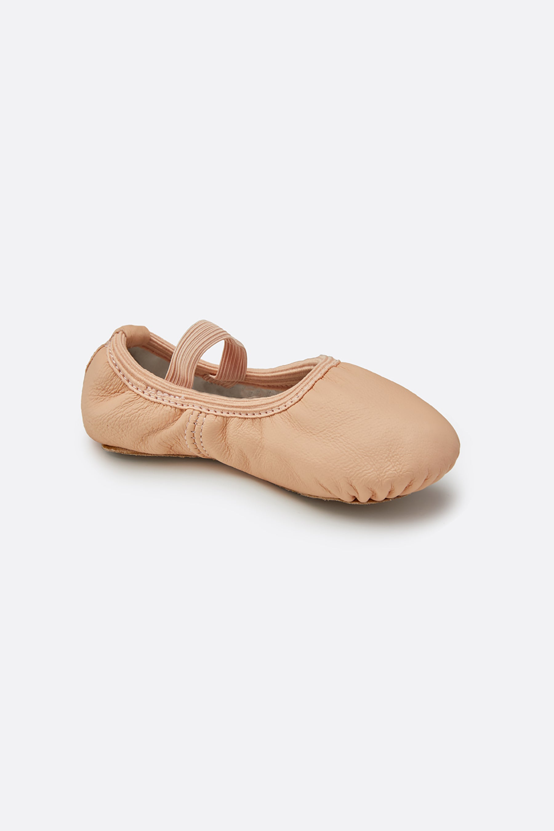Girl's Premium Leather Ballet Shoes (no drawstring)