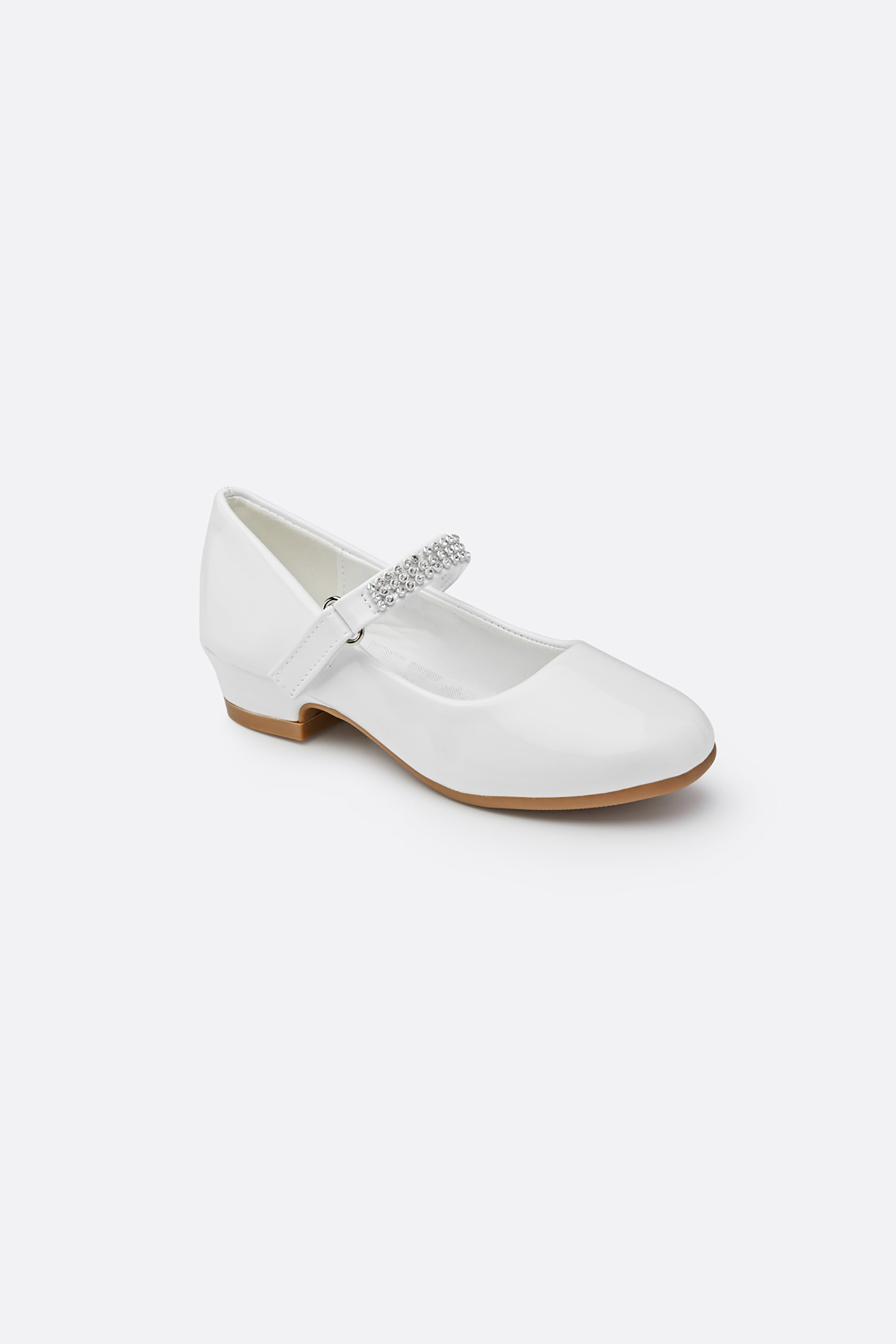 Girls Low Heel Mary Jane Dress Shoes