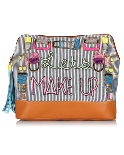 Let's Make Up  bag -Travel