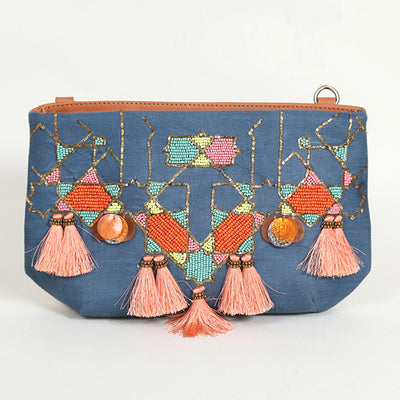 Abstract Sling : Blue