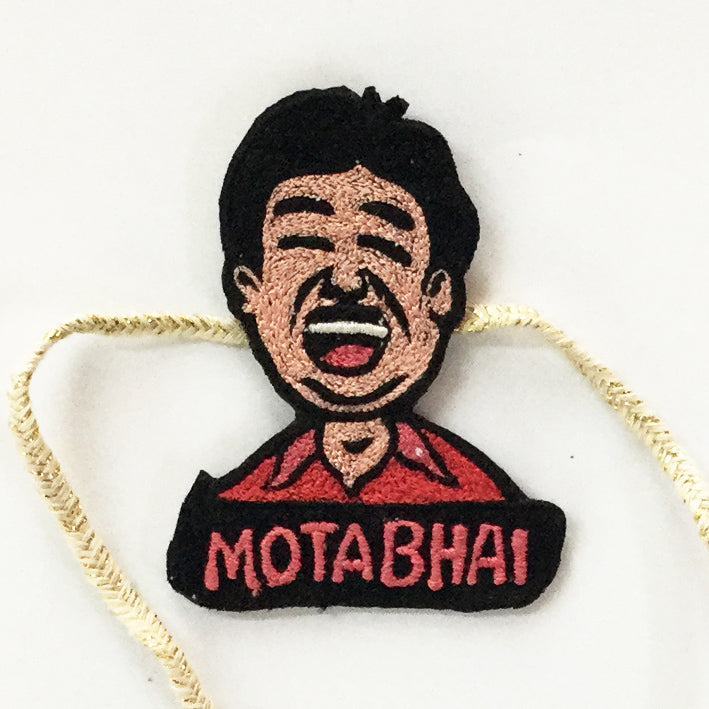 GRAPHIC COLLECTION - MOTA BHAI crafted by Desidramaqueen art by Desipun