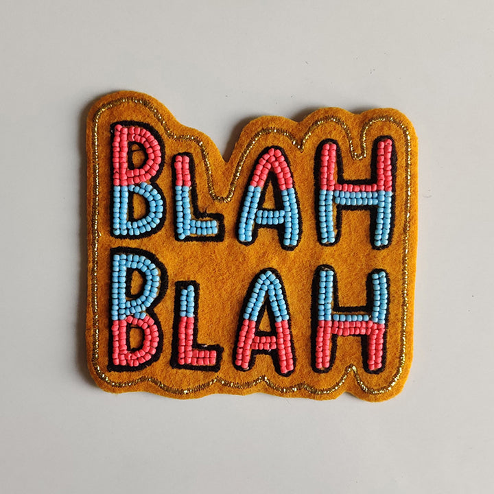 Gift this handmade magnet to the constant chatterbox in your group!
