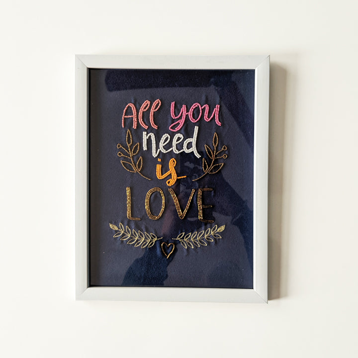 All you need is love- Wall Art