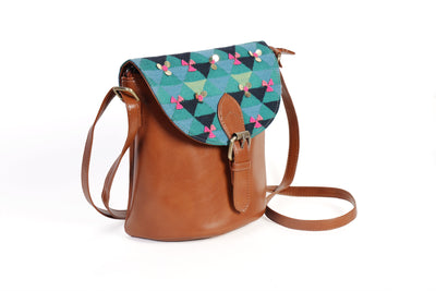 Saddle sling -green