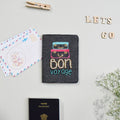 Bon Voyage passport cover