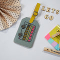 Luggage Tag- Bus