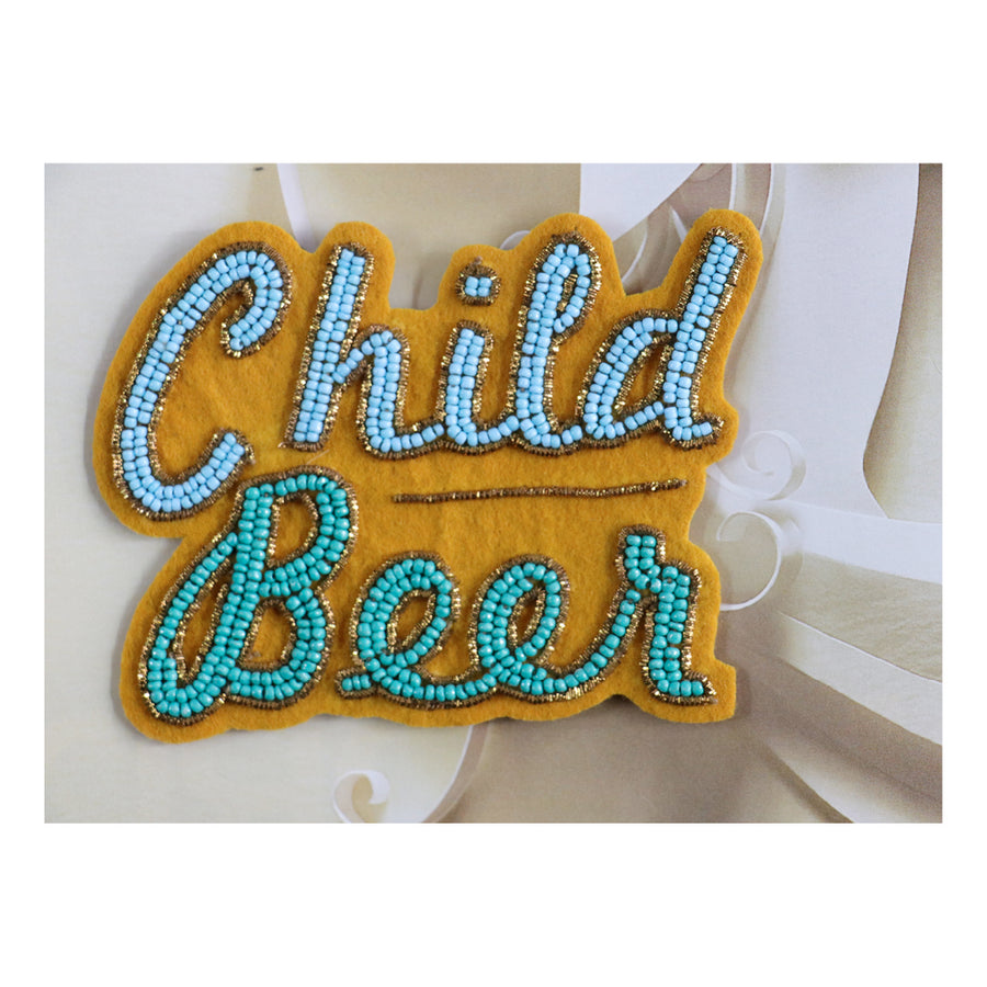 Child Beer Fridge magnet