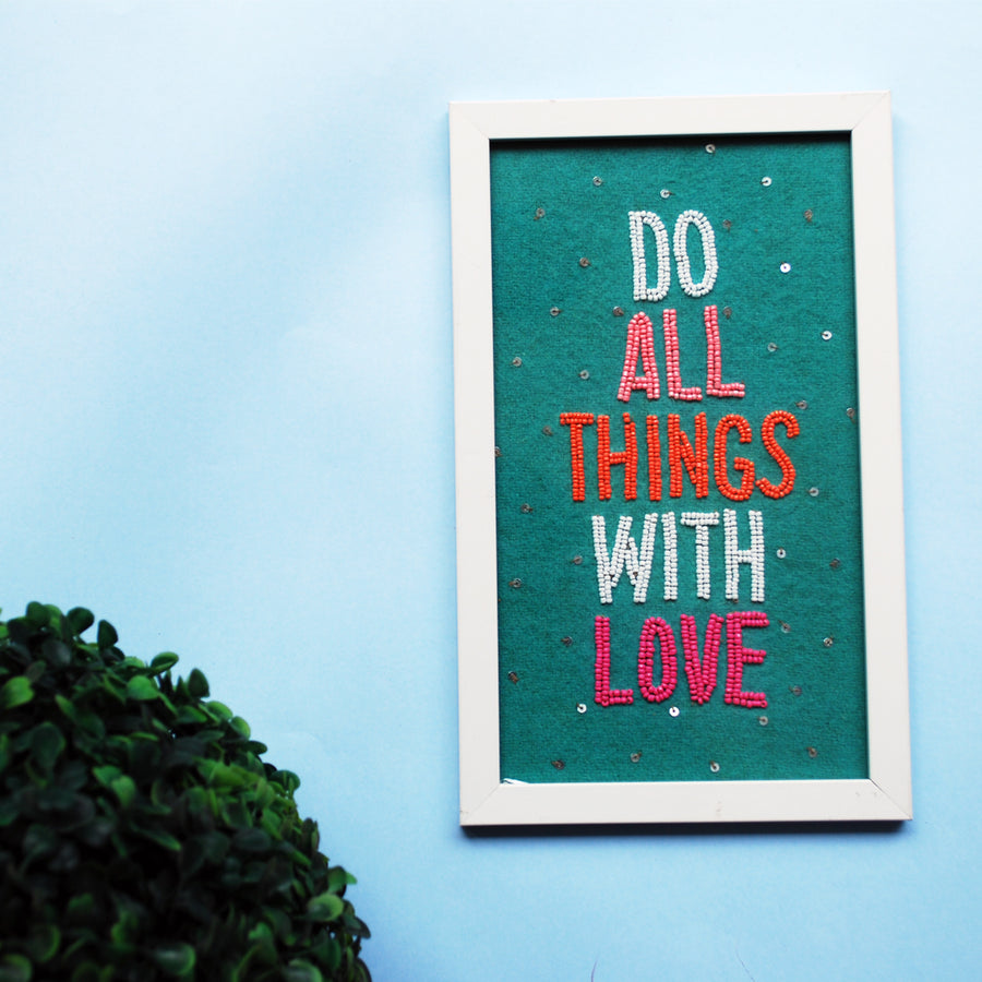 Do all thing with love