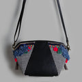 Mini Duff Sling: Black