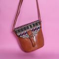 Saddle sling -Tan Casual