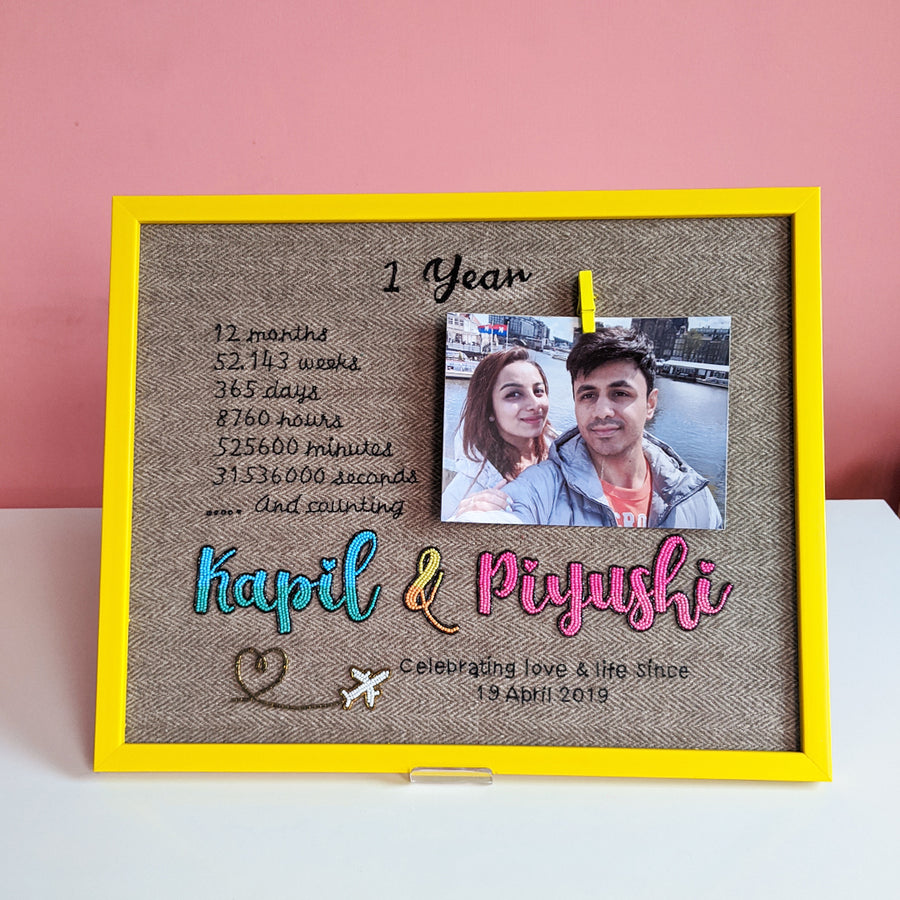 Personalized Nameplate with Picture