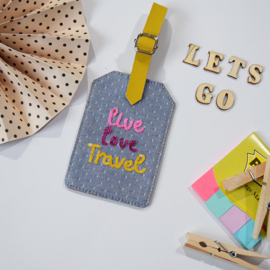 Luggage Tag- Live Love Travel