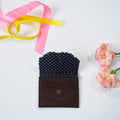 CARD WALLET- NAVY BLUE