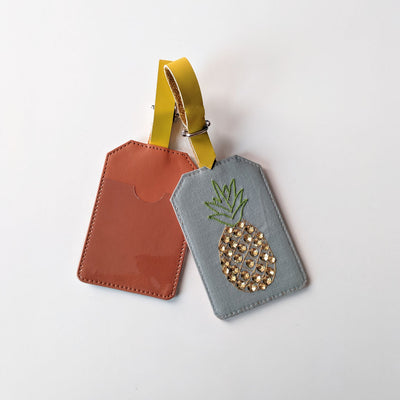 Luggage Tag- Pineapple