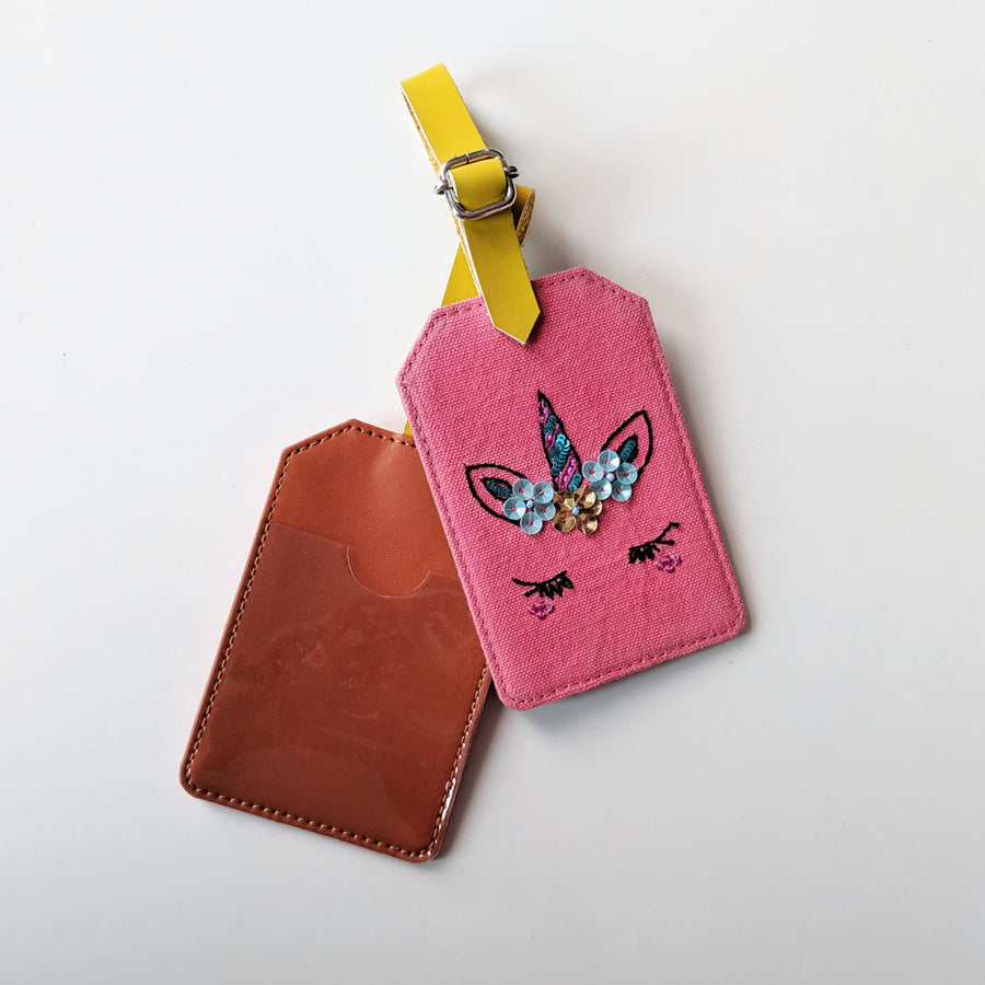 Luggage Tag- Unicorn