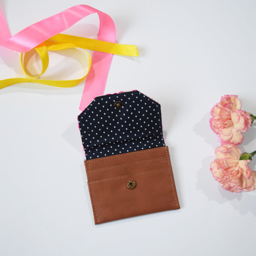 CARD WALLET- PINK