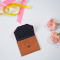 CARD WALLET- PINK POO CARD WALLET