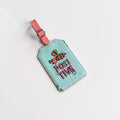 Luggage Tag- Bee Positive