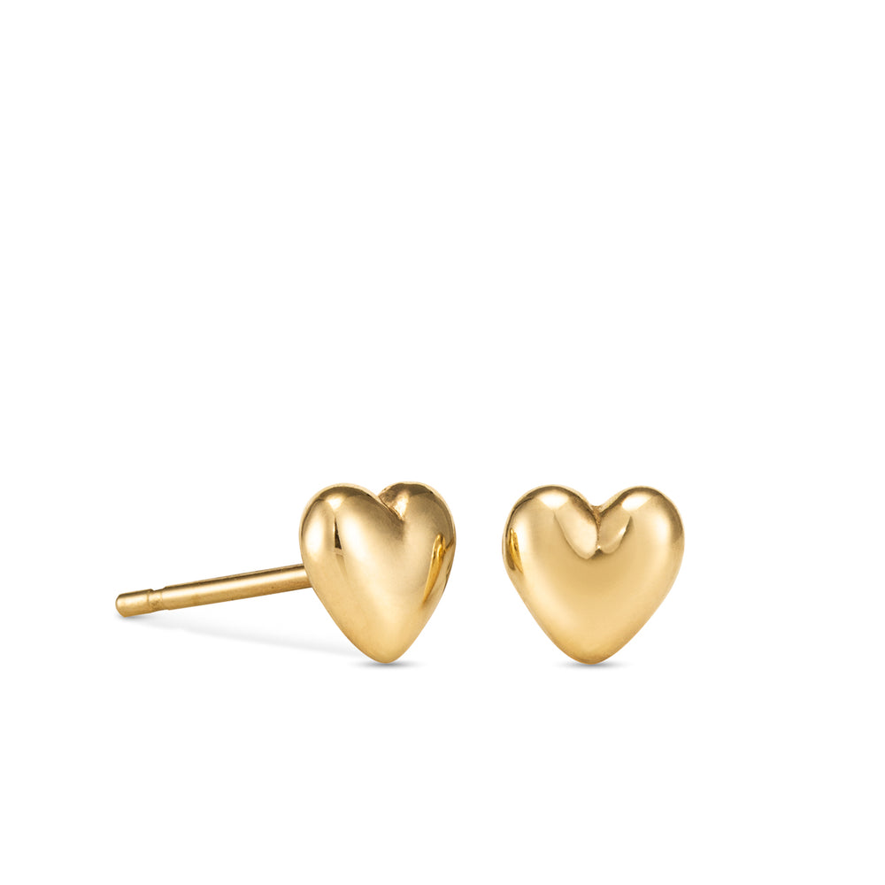 Sweethearts Stud Earrings • 14K Gold