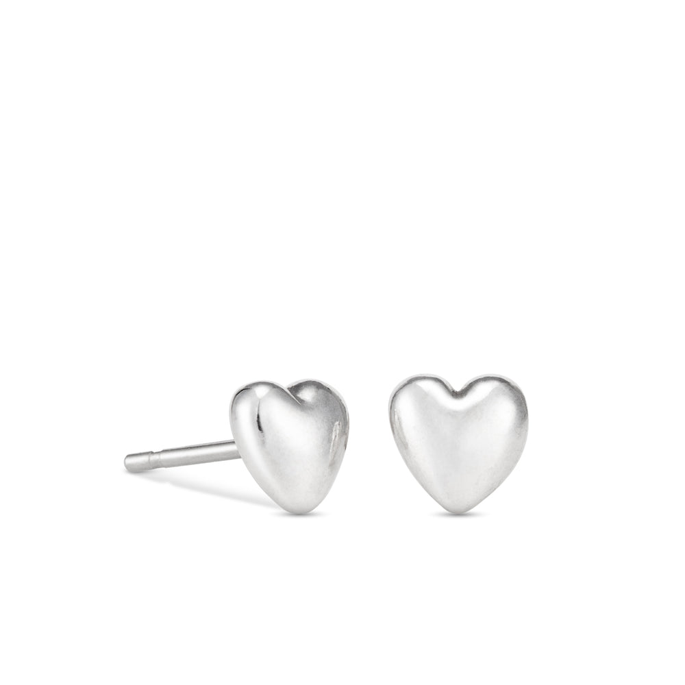Sweethearts Stud Earrings • Sterling Silver
