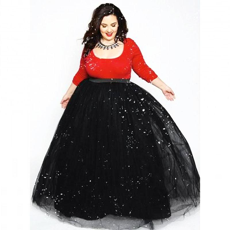 Maxi Style Floor Length Tulle Skirt* (S-5XL) – Thick Chick Treasures