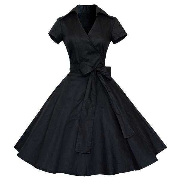 Women s Retro Vintage Pin Up Dress- 50s 60s  (S-4XL) – Thick Chick ... 0df66f3238